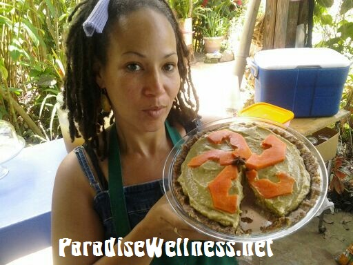 Sweet Breadfruit Sun Pie