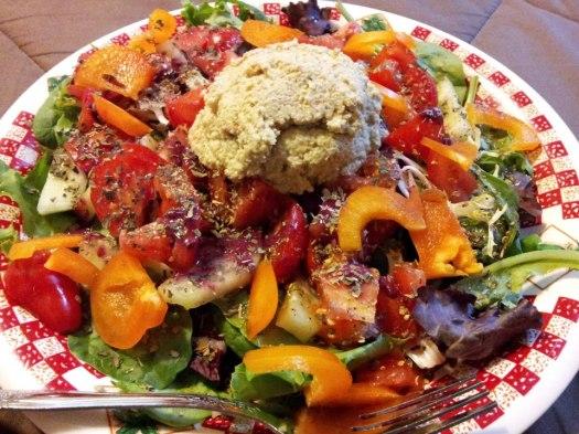 Raw Un chicken Salad