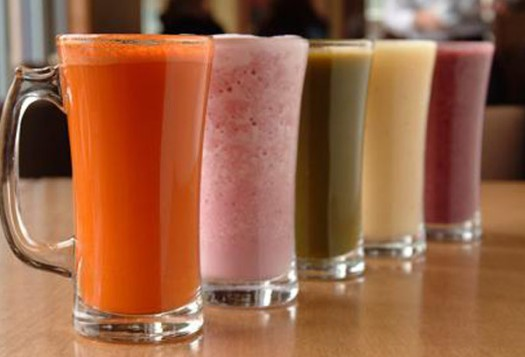 Juices and Smoothies...that's it this week!