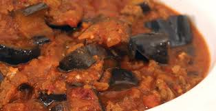 Trinidadian Eggplant Stew