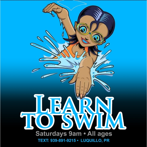 learn to swim square